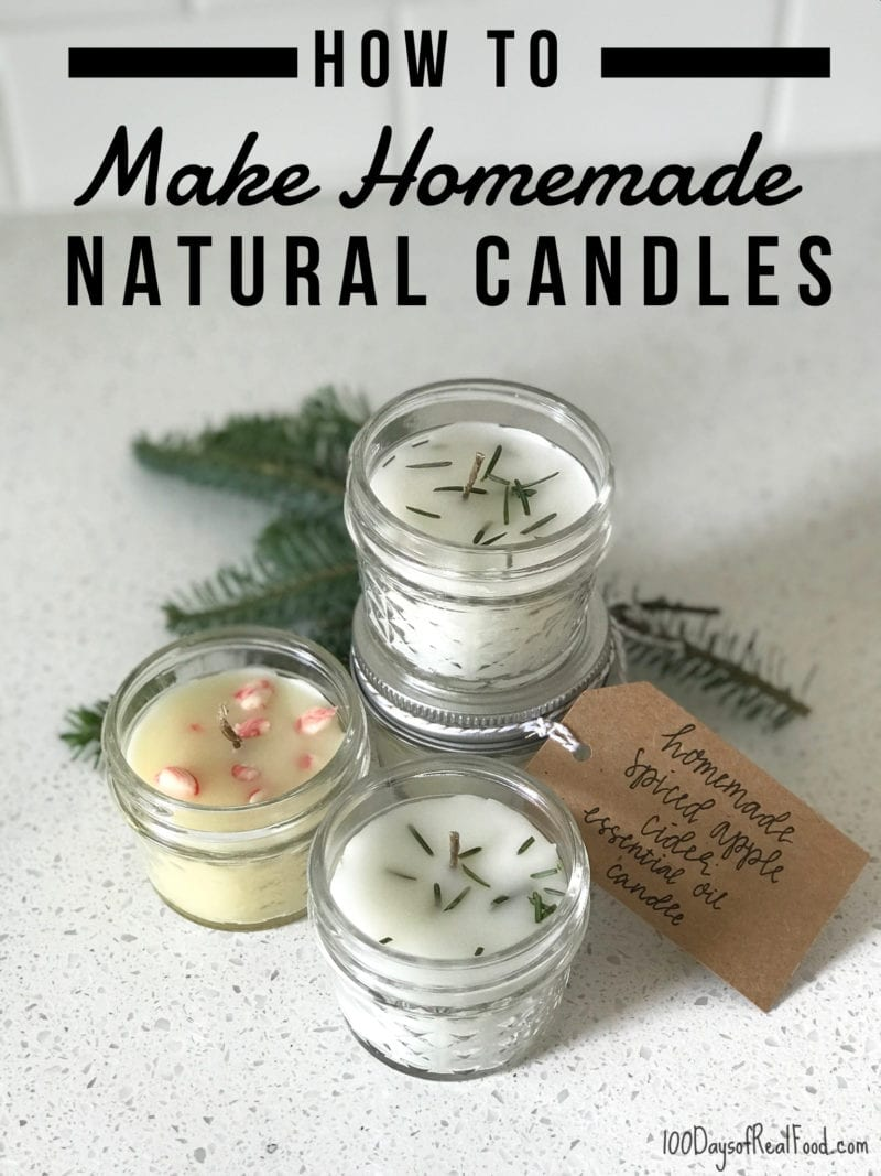 Used Flavored Candle Caramel